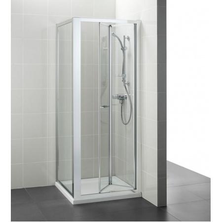 Ideal Standard Kubo Składane drzwi prysznicowe 90 cm, profile chrom, szkło przeźroczyste T7319EO