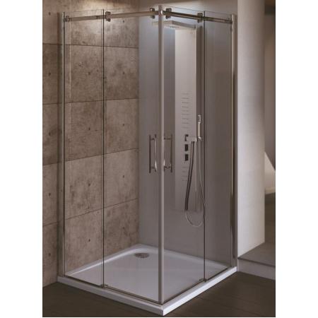 Ideal Standard Magnum Drzwi prysznicowe z wejściem narożnym, wersja prawa 120 cm, chrom T9648YE