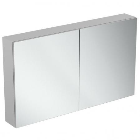 Ideal Standard Mirror+light Szafka z lustrem ścienna 120x70 cm, efekt aluminium T3499AL