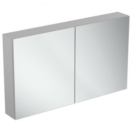 Ideal Standard Mirror+light Szafka z lustrem ścienna 120x70 cm, efekt aluminium T3593AL
