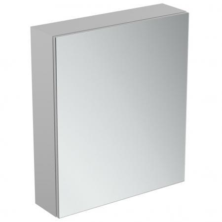 Ideal Standard Mirror+light Szafka z lustrem ścienna 60x70 cm, efekt aluminium T3430AL