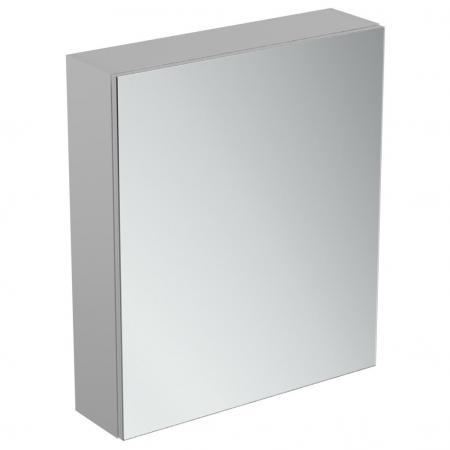 Ideal Standard Mirror+light Szafka z lustrem ścienna 60x70 cm, efekt aluminium T3589AL