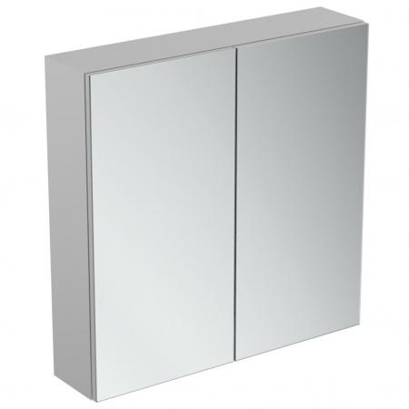 Ideal Standard Mirror+light Szafka z lustrem ścienna 70x70 cm, efekt aluminium T3439AL