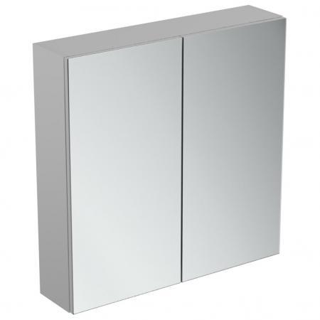 Ideal Standard Mirror+light Szafka z lustrem ścienna 70x70 cm, efekt aluminium T3590AL