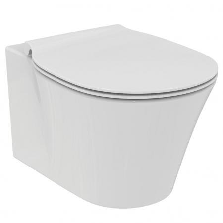Ideal Standard Connect Air Miska WC wisząca AquaBlade® z ukrytym mocowaniem 36x54 cm, biała E005401