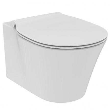 Ideal Standard Connect Air Miska WC wisząca Rimless bez kołnierza z ukrytym mocowaniem 36,5x54,5 cm, biała E015501