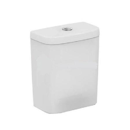 Ideal Standard Tempo Spłuczka WC 31,7x17,9x37,5 cm, doprowadzenie wody z dołu, biała T427301