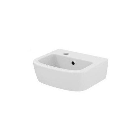 Ideal Standard Tempo Umywalka wisząca 35x30x15 cm, z otworem po lewej stronie, z przelewem, biała T056801