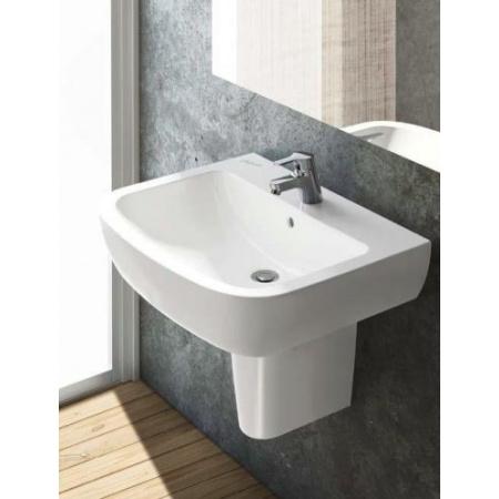Ideal Standard Tempo Umywalka wisząca 60x49,5x18,5 cm, 1-otworowa z przelewem, biała T056401