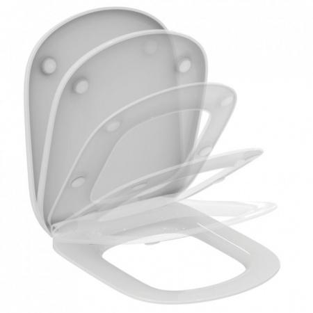 Ideal Standard Tesi Deska sedesowa wolnoopadająca cienka zagięta, biała T352901