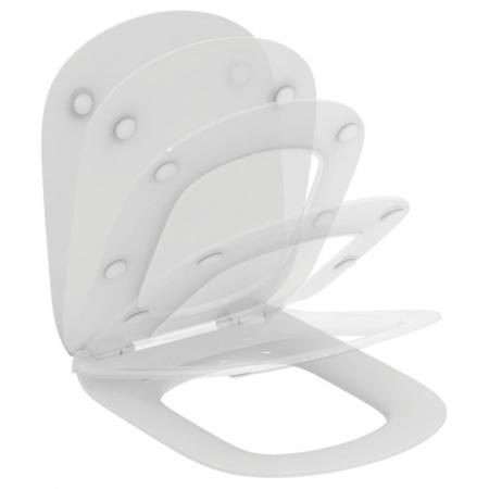 Ideal Standard Tesi Deska sedesowa wolnoopadająca cienka Thin, biała T352701