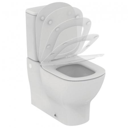 Ideal Standard Tesi Toaleta WC kompaktowa 66,5x36,5 cm Aquablade, biała T008201