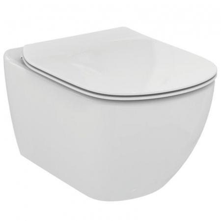Ideal Standard Tesi Toaleta WC podwieszana 55,5x36,5 cm Rimless bez kołnierza z ukrytym mocowaniem, biała T350301