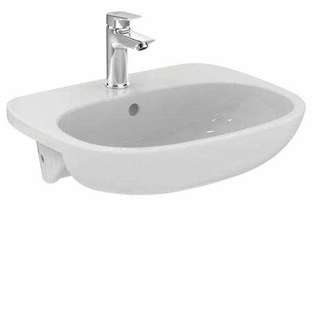 Ideal Standard Tesi Umywalka półblatowa 55x45 cm, biała T010001