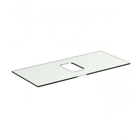 Ideal Standard Tonic II Blat szklany 100,6x44x10 cm, bez otworu na baterię, biały R4332SA