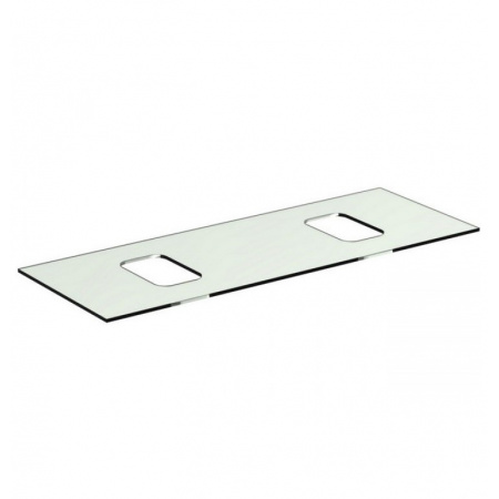 Ideal Standard Tonic II Blat szklany 120,6x44x10 cm, biały R4333SA
