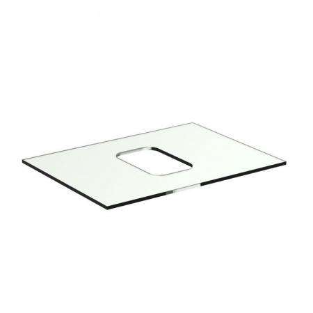 Ideal Standard Tonic II Blat szklany 60 cm, bez otworu na baterię, biały R4330SA