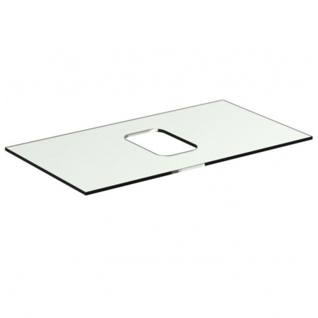 Ideal Standard Tonic II Blat szklany 80 cm, bez otworu na baterię, biały R4331SA