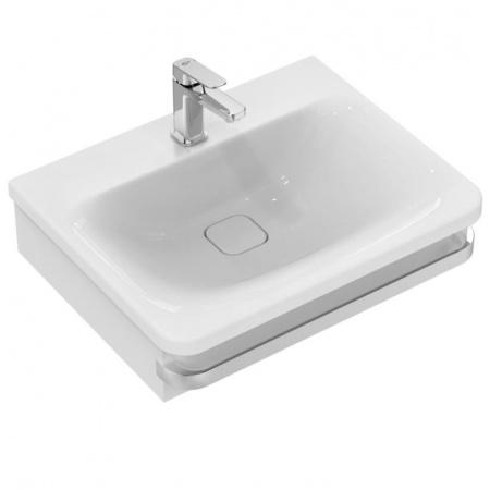 Ideal Standard Tonic II Umywalka podwieszana 61,5x49x16,5 cm, z powierzchniami bocznymi, z otworem na baterię, biała K087801