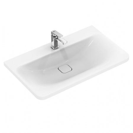 Ideal Standard Tonic II Umywalka podwieszana 81,5x49x17 cm, z powierzchniami bocznymi, z otworem na baterię, biała K087901