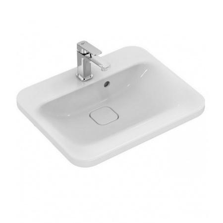 Ideal Standard Tonic II Umywalka półblatowa 55x45x17,5 cm, z otworem na baterię, biała K083501