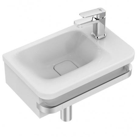Ideal Standard Tonic II Umywalka meblowa asymetryczna 46x31x14,5 cm, z otworem na baterię po prawej stronie, biała K086701