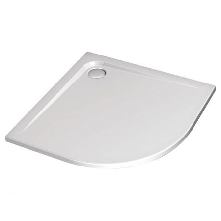 Ideal Standard Ultra Flat Brodzik półokrągły asymetryczny 100x80 cm prawy biały K240601