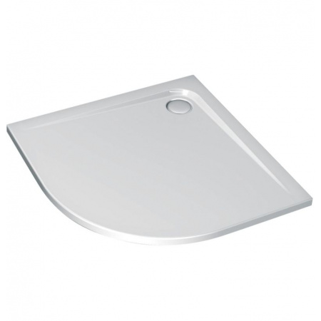 Ideal Standard Ultra Flat Brodzik półokrągły asymetryczny 120x80 cm, wersja lewa, biały K240901