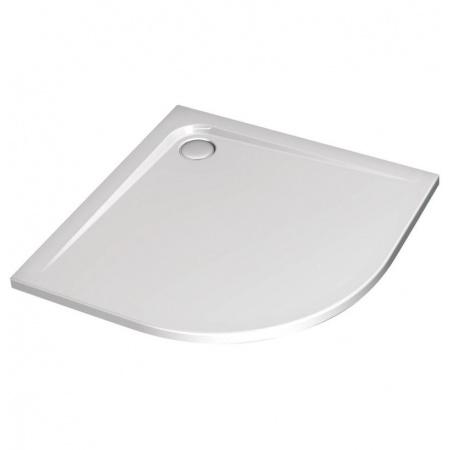 Ideal Standard Ultra Flat Brodzik półokrągły asymetryczny 90x70 cm, wersja prawa, biały K240201