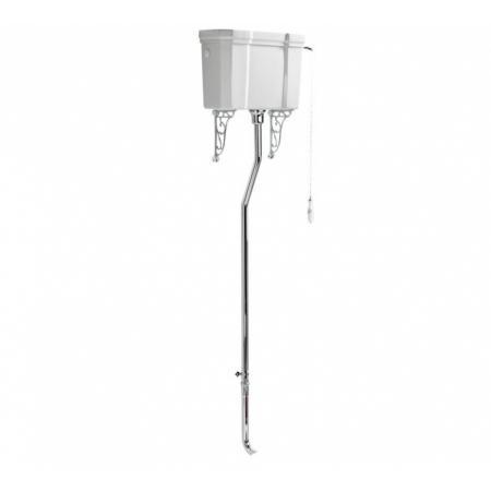 Ideal Standard Waverley Zbiornik do kompaktu WC podwieszany 52 cm z rurą i mocowaniami biały U470701