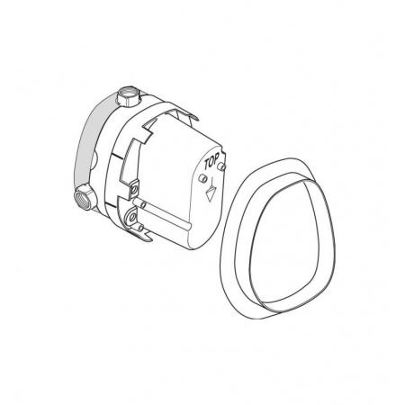 Ideal Standard Ceratherm Termosatyczny zestaw podtynkowy A2353NU