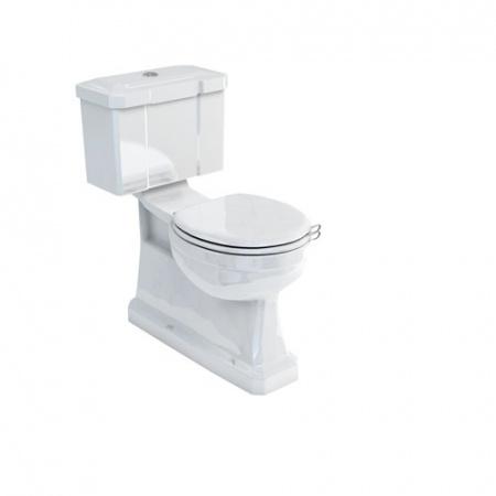 Burlington Close coupled Toaleta WC kompaktowa 45,4x73x78 cm, biała P18