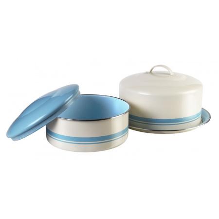 Jamie Oliver Pojemniki na ciasto, Kremowe/błękitne JB8950