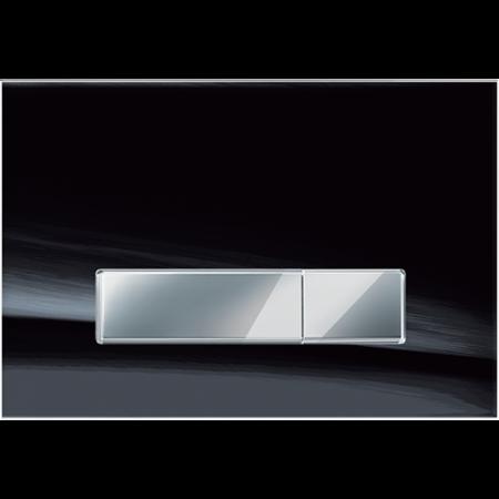 Jomo Ambiente Przycisk WC szkło czarny mat 167-33001120-00
