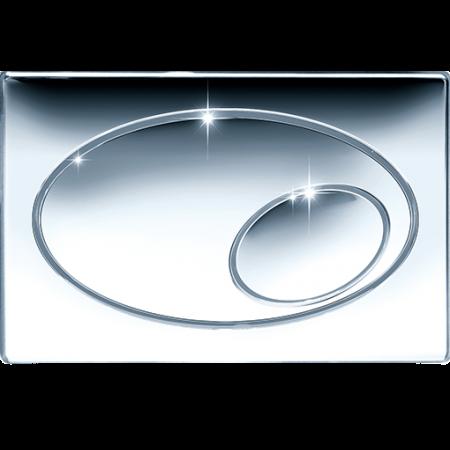 Jomo Classic Przycisk spłukujący do WC, chromowany polerowany 167-27070036-00