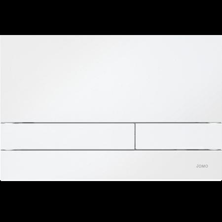 Jomo Exclusive 2.0 Przycisk spłukujący do WC, biały/biały 167-34000101-00