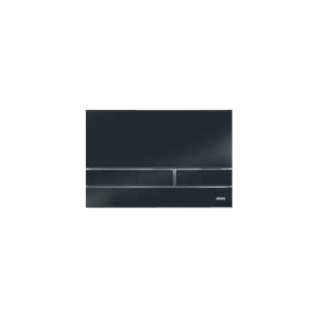 Jomo Exclusive 2.1 Przycisk spłukujący do WC, czarny/chromowany polerowany 167-41009005-00
