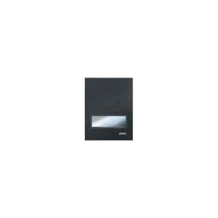 Jomo Exclusive Urinal Manuell URM-G Przycisk spłukujący do pisuaru, czarny matowy/chromowany matowy 167-63001120-00