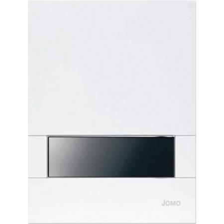 Jomo Exclusive Urinal Manuell URM-K Przycisk spłukujący do pisuaru, biały/czarny 167-60000118-00