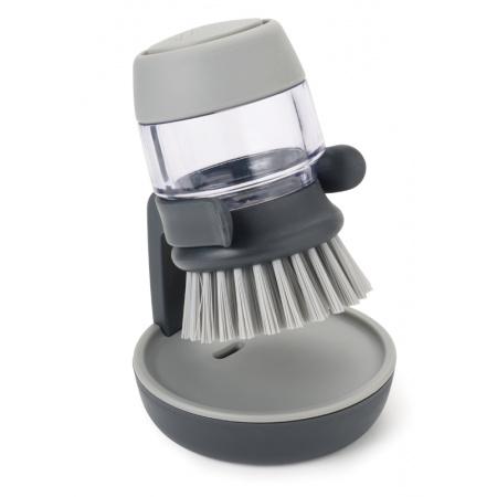 Joseph Joseph BladeBrush Szczotka do mycia naczyń z pompką, szara 85005