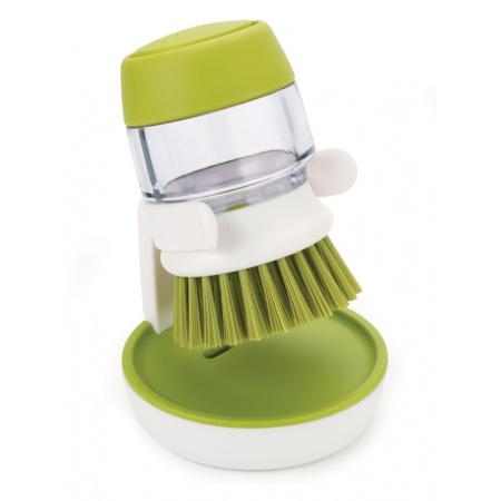 Joseph Joseph BladeBrush Szczotka do mycia naczyń z pompką, zielona 85004