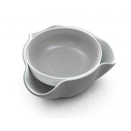 Joseph Joseph Double-Dish Miseczka na przekąski, szara DDWGR010GB