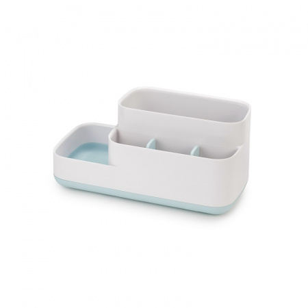 Joseph Joseph EasyStore Pojemnik na akcesoria łazienkowe, biały/błękitny 70504