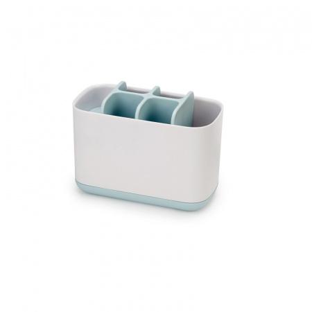 Joseph Joseph EasyStore Pojemnik na szczoteczki do zębów duży, biały/błękitny 70501