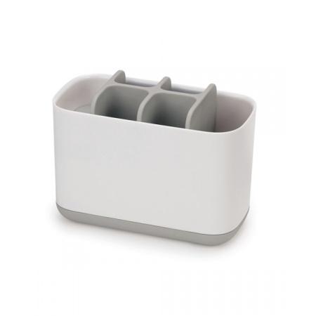 Joseph Joseph EasyStore Pojemnik na szczoteczki do zębów duży, biały/szary 70510