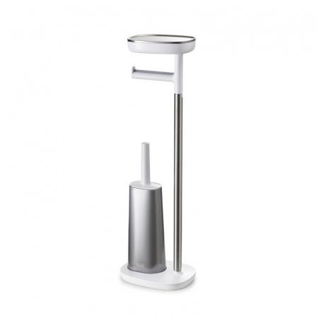 Joseph Joseph EasyStore Szczotka WC stojąca, biała/szary 70519