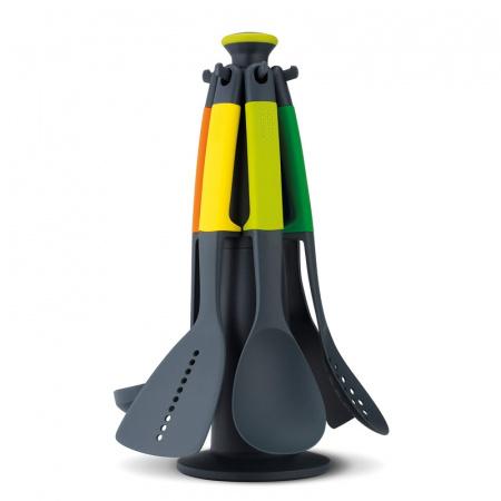 Joseph Joseph Elevate Zestaw 6 narzędzi z karuzelą, kolorowe 10118