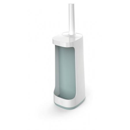 Joseph Joseph Flex Plus Szczotka WC stojąca z miejscem na detergenty, biała/błękitna 70507