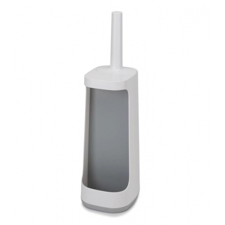 Joseph Joseph Flex Plus Szczotka WC stojąca z miejscem na detergenty, biała/szara 70516