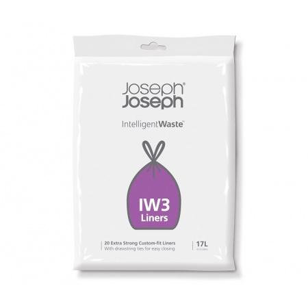 Joseph Joseph Intelligent Waste Worki na śmieci 20 szt, 17 l, 30026
